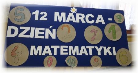 Ogólnopolski Dzień Matematyki w naszej szkole