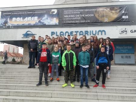 Wycieczka do Planetarium