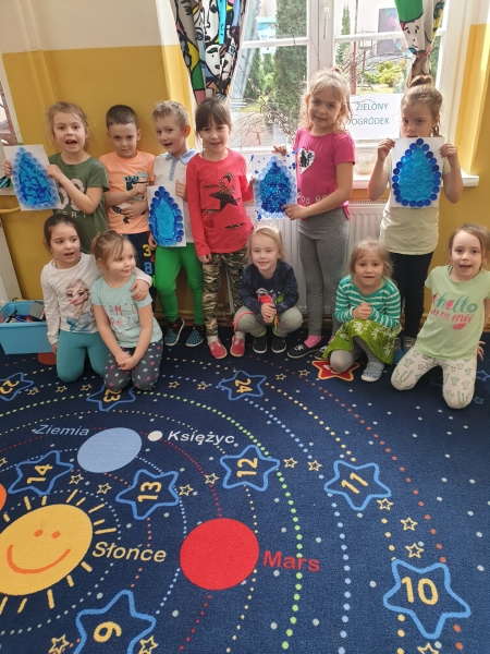 Przedszkolaki obchodziły Światowy Dzień Wody
