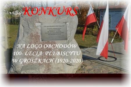 KONKURS NA LOGO OBCHODÓW 100- LECIA PLEBISCYTU W GROSZKACH (1920-2020)