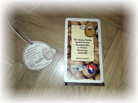 III Gminny Turniej Sprawnościowy Przedszkolaka w Krainie Pieczonego Ziemniaka