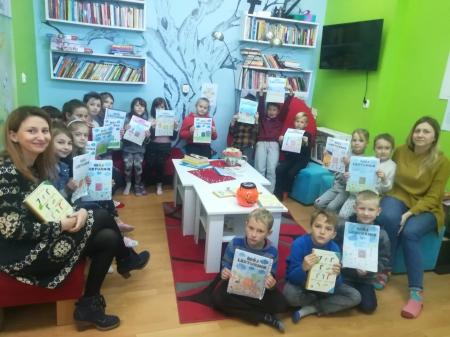 Czytam z klasą, lekturki spod chmurki - ogólnopolski projekt edukacyjny dla klas I-III