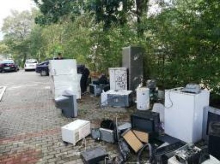 Zbiórka elektrośmieci w naszej szkole