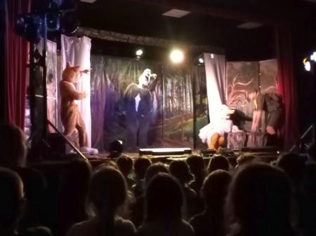 """Wyjazd przedstawienie teatralne pt. """"Piotruś i wilk"""" do Lubawy"""