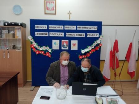 Gminny Konkurs Wiedzy Historycznej - wyniki finału