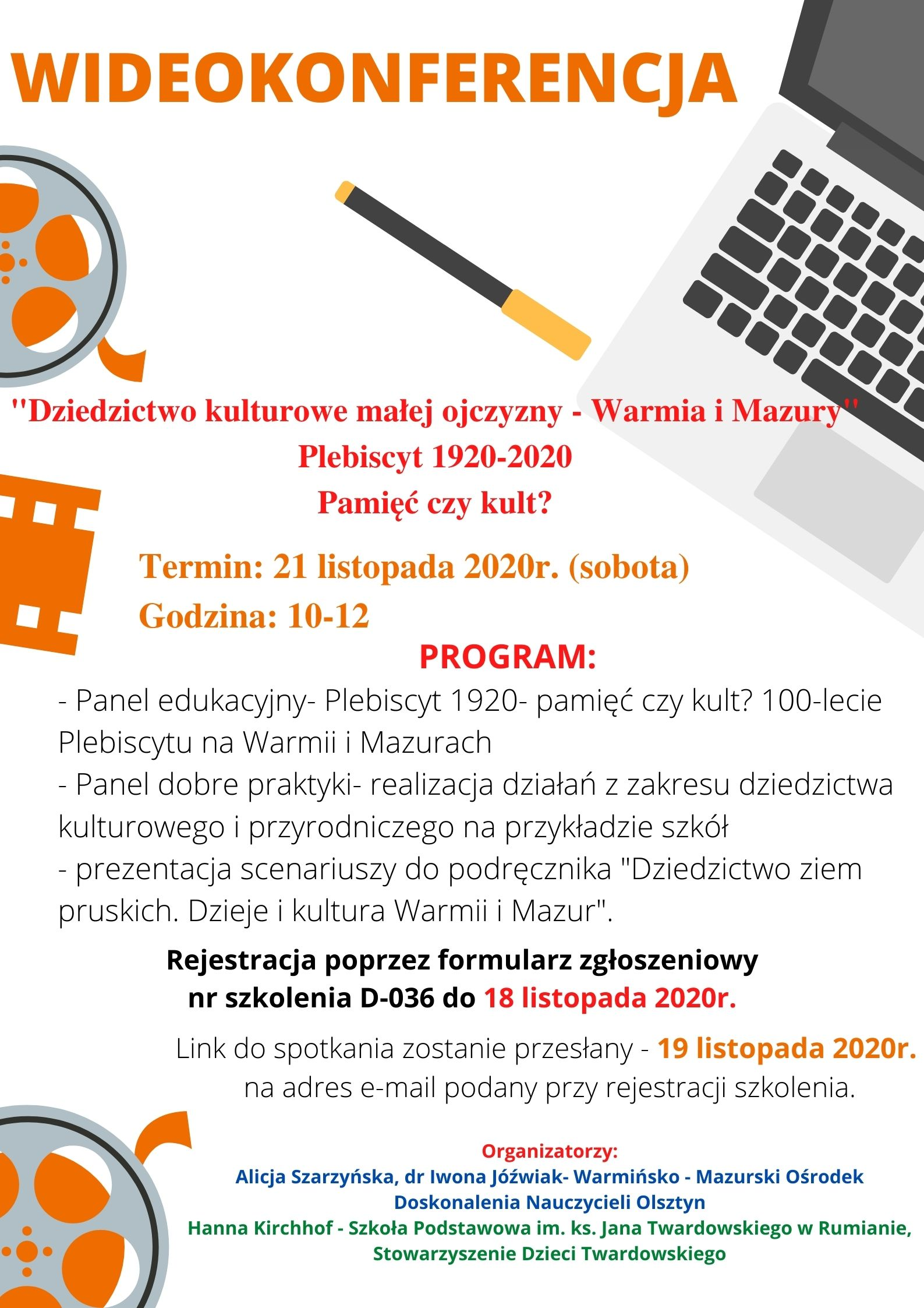 Zapraszamy do udziału w wideokonferencji