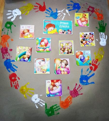 Ogólnopolski Dzień Praw Dziecka w przedszkolu
