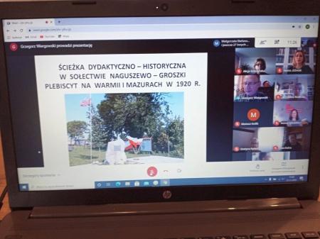 Seminarium dla nauczycieli województwa warmińsko – mazurskiego