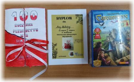 Nagrody i dyplomy za udział w konkursie Mój Lapbook