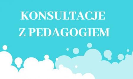 Konsultacje z  Pedagogiem
