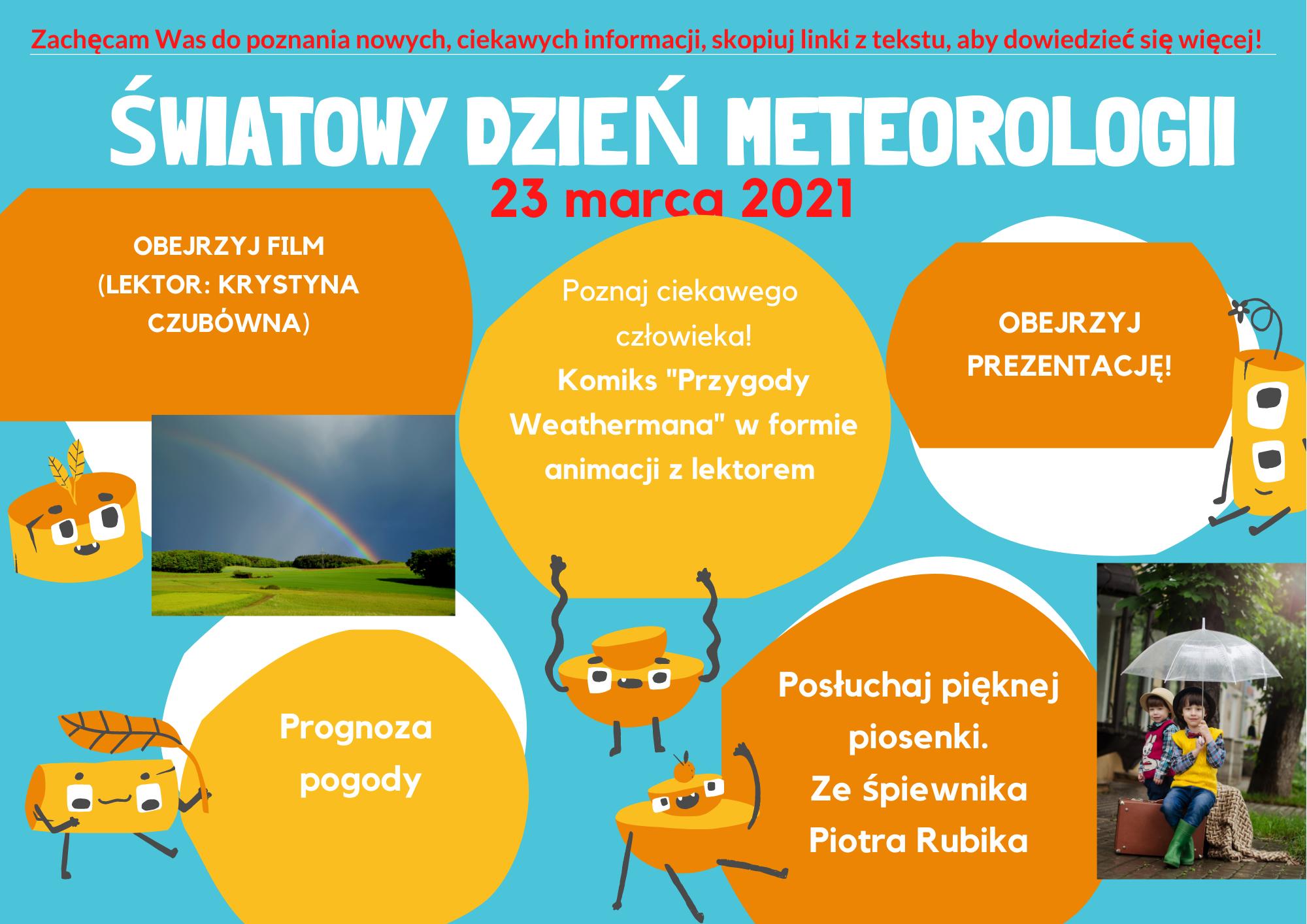 Dzisiaj Światowy Dzień Meteorologii!