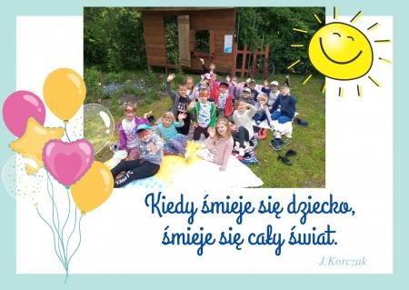 1 czerwca - Dzień Dziecka w grupie ''Biedronki''