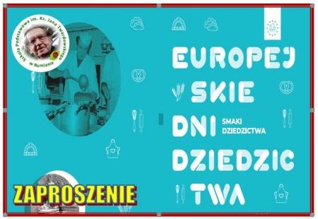 Zaproszenie na Europejskie Dni Dziedzictwa