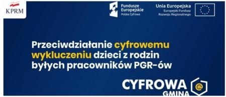 DrukujCyfrowa Gmina - Wsparcie dzieci z rodzin popegeerowskich